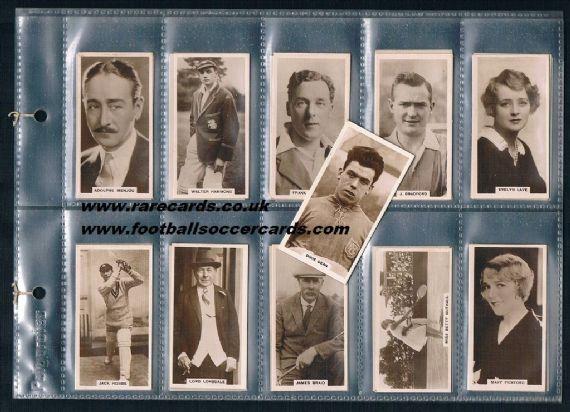 1933 Dixie Dean  De Reszke set DEAL